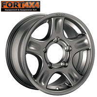 JANTE RACER GRISE 7X16 ENTRAXE 6X139.7 TOYOTA HILUX / RUNNER / SERIE 4 6 7 8 9