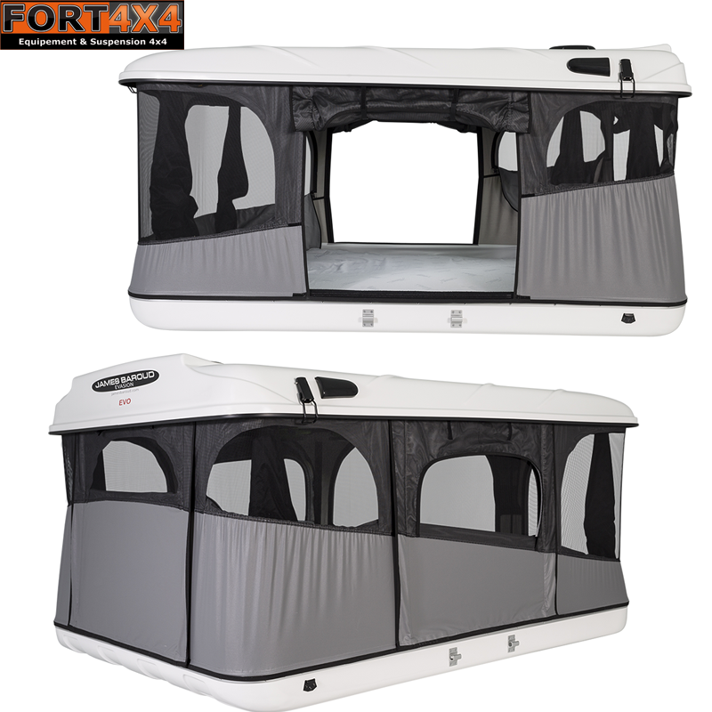 tente de toit 4x4 james baroud fort 4x4 accessoires quipements suspensions 4x4. Black Bedroom Furniture Sets. Home Design Ideas