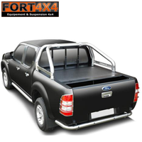 ROLL BAR INOX COMPATIBLE ROLL TOP COVER FORD RANGER 2012+