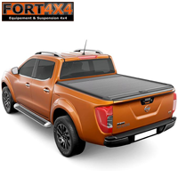 ROLL BAR INOX COMPATIBLE ROLL TOP COVER NISSAN NP300 2016+