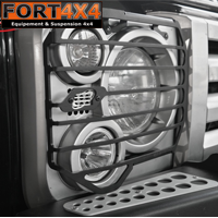 GRILLES DE PROTECTION DE PHARES SVX LAND ROVER DEFENDER